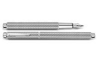 Palladium-Coated ECRIDOR CUBRIK Fountain Pen