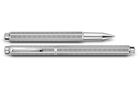 Palladium-Coated ECRIDOR CHEVRON Roller Pen