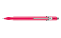 849 POPLINE Fluorescent Purple Ballpoint Pen, with Holder