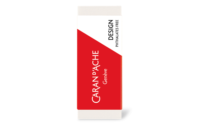 DESIGN eraser for graphite leads and pencils and coloured pencils