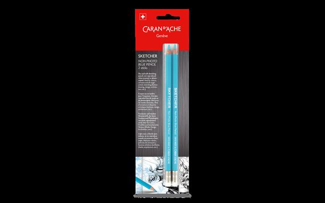 Sketcher / Non-Photo Blue Pencil – Blister 2Stück