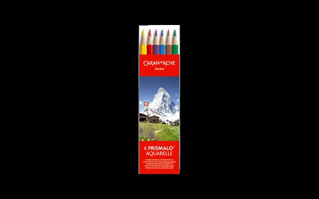 Box of 6 Colours PRISMALO® Aquarelle