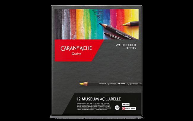 Standard Box of 12 Colours MUSEUM Aquarelle
