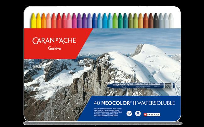 Boîte 40 Pastels NEOCOLOR® II