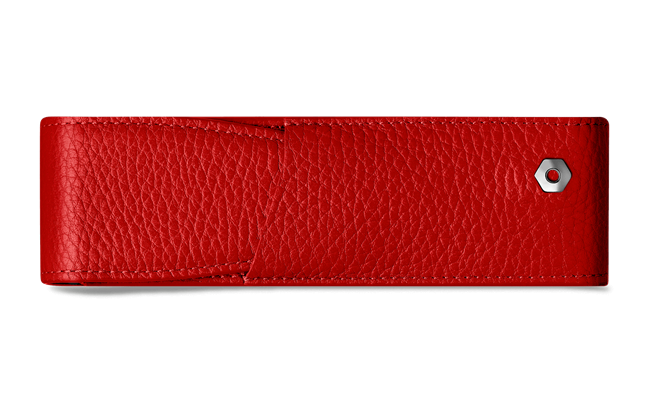 LÉMAN RED 2-pen holder