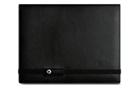 LÉMAN BLACK leather notebook A5