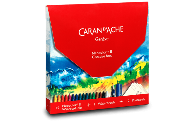 Creative Box con 15 Pastelli NEOCOLOR® II