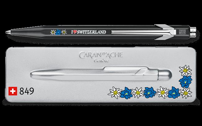 849 EDELWEISS Ballpoint Pen, with Holder