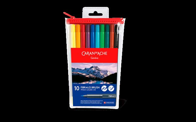 FIBRALO® Brush - 10 colour assortment