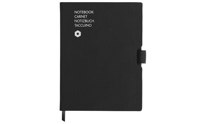 Notebook OFFICE A5 Canvas-Black