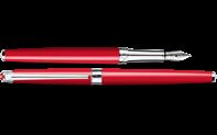 LÉMAN SLIM Scarlet Red Fountain Pen