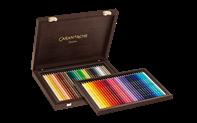 Holzkoffer zum entdecken – Sortiment 30 + 30 SUPRACOLOR® Soft Aquarelle - mit den 30 neuen Farben