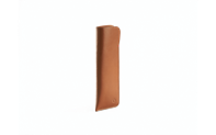 BEIGE LEATHER CASE FOR 2 PEN