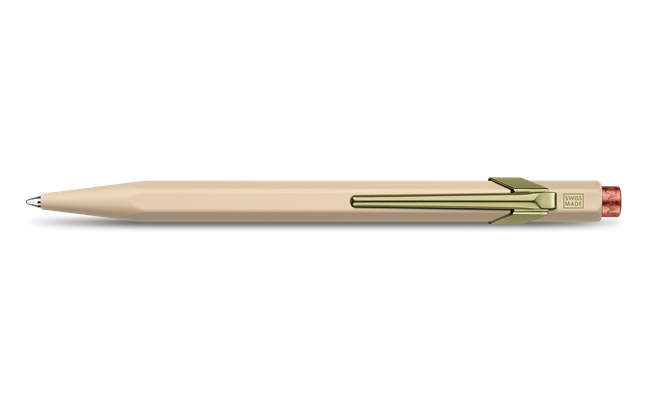 849 CLAIM YOUR STYLE Beige Ballpoint Pen