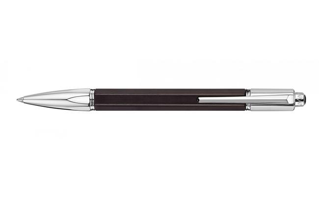 Kugelschreiber VARIUS EBONY Argenté Rhodié